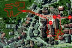 Citycross Baiersbronn Streckenplan